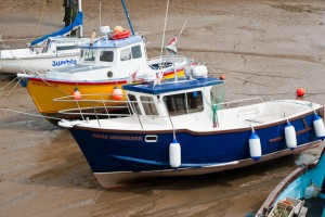 Boats in Bridlington Harbour