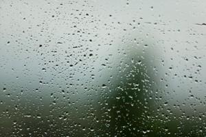 Rain on my window pane!