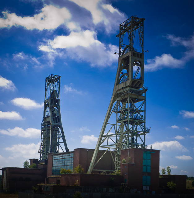 Clipstone Pit headstocks