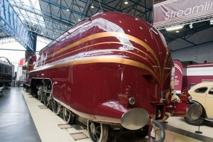 the streamlined Duchess Of Hamilton Locomotive