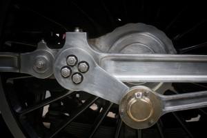 Crankshaft from the streamlined Duchess Of Hamilton Locomotive