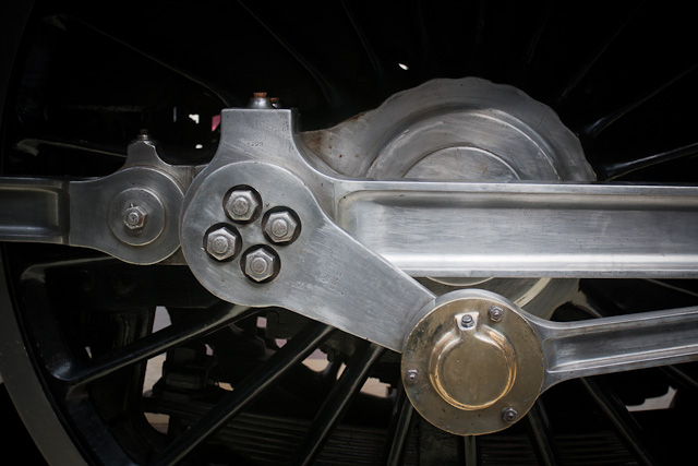 Crankshaft from the streamlined Duchess Of Hamilton Locomotive