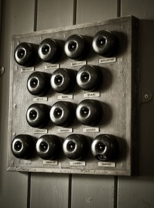 Old light switches