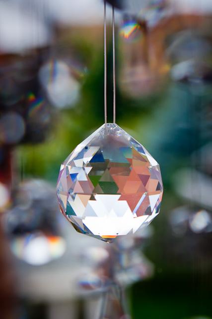 Crystal sculpture
