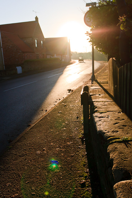 Sunrise on Clowne Road