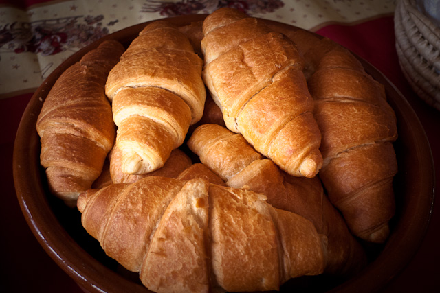 Forgotten croissants
